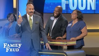Hey HOUDINI! Let's set this BED ON FIRE! | Family Feud