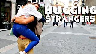 Hugging Strangers in Spain!!! Daniel Fernandez