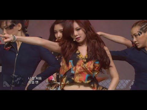 4minute - Volume Up, 포미닛 - 볼륨 업, Music Core 20120421
