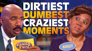 2019's DIRTIEST, DUMBEST & CRAZIEST MOMENTS! | Family Feud