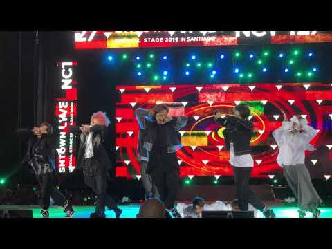 NCT127 SMTOWN in Santiago Chile 2019 - Cherry Bomb [english]