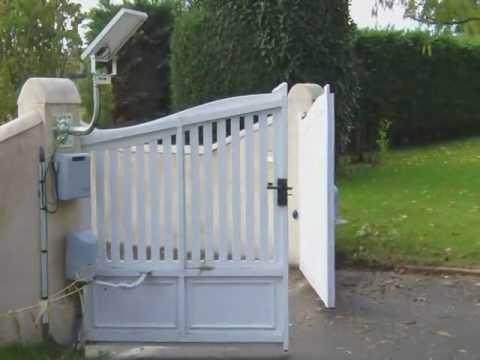 automatisme de portail battant nice popkit chez habitat. Black Bedroom Furniture Sets. Home Design Ideas