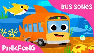 Shark Bus | The shark bus goes  round and round | Bus Songs | Pinkfong Songs for Children