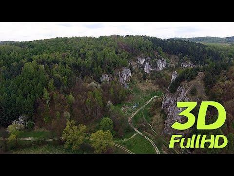 [3D] Kobylanska Valley / Dolina Kobylańska, Kobylany, Poland / Polska