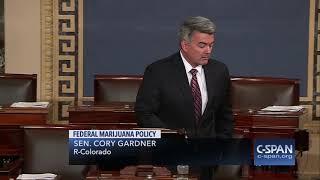 Senator Cory Gardner (R-CO) on Attorney General Jeff Sessions' marijuana policy change (C-SPAN)