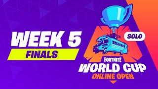 Fortnite World Cup - Week 5 Finals