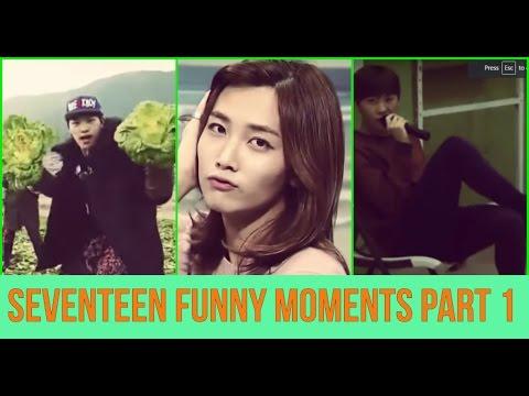 ♡ Seventeen - Funny Moments Part 1 ♡