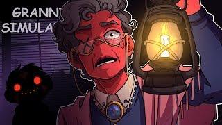 SOMETHING EVIL LIVES IN THE DARK! | Granny Simulator (w/ H2O Delirious)