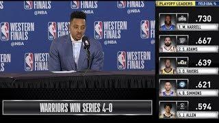 CJ McCollum Press Conference | Western Conference Finals Game 4