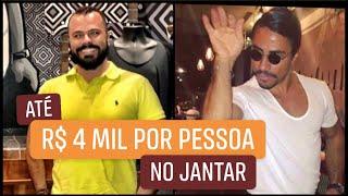 JANTANDO NO NUSR-ET, RESTAURANTE DO SALTBAE