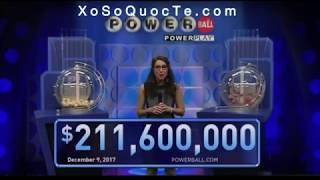 Kết Quả Xổ Số Powerball - Ngày Quay Thưởng 10/12/2017