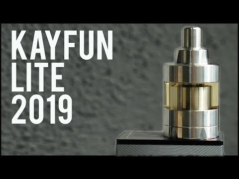 video Svoe Mesto Kayfun Lite 22mm Mtl Rta