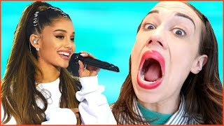 Giving Ariana Grande a Voice Lesson