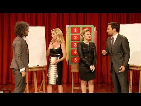 Pictionary with Demi Lovato, Julie Bowen, Wayne Coyne & Jimmy Fallon, Part 1