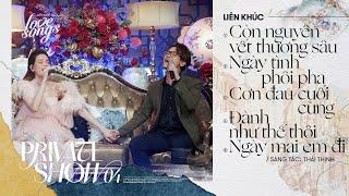 Liên khúc Thái Thịnh - Hồ Ngọc Hà x Hà Anh Tuấn   Private Show 04   Love Songs   T Production