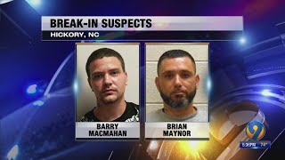 19-year-old says he fired several shots at 2 men who broke into his Hickory home