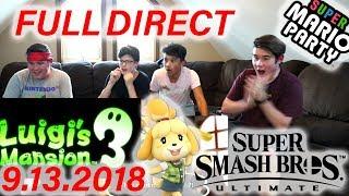 Nintendo Direct 9.13.2018 Reaction!!