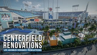 Dodgers Reveal Updated Renderings of Centerfield Renovations (2020)