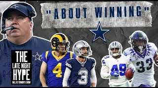 IT'S THE LATE NIGHT HYPE//with the latest Cowboys rumblings, rumors & news.