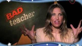 Bad Teacher Uncensored w/Cameron Diaz, Tom Lennon, Phyllis Smith, Lucy Punch & Carrie Keagan!!