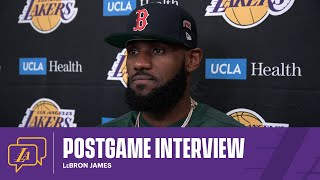 Lakers Postgame: LeBron James (4/30/21)