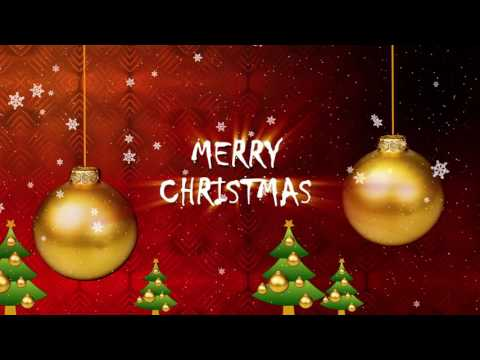 Merry Christmas Greeting Video 2018