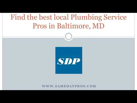 Best local Plumbing Service in Baltimore