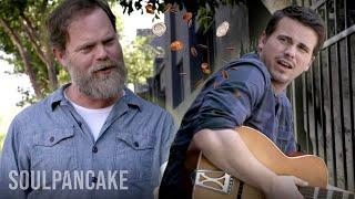 Rainn Wilson Throws Money at Jason Ritter | Metaphysical Milkshake