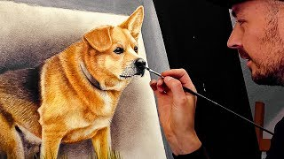 INCREDIBLY REALISTIC PAINTING BY STEFAN PABST