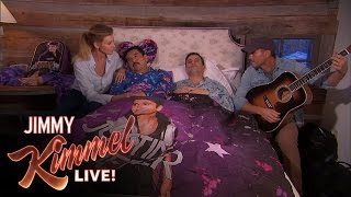Jimmy Kimmel Sleepover with Faith Hill & Tim McGraw