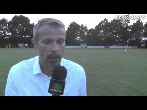 Kim Koitka (Trainer SC Schwarzenbek) und Mathias Stuhlmacher (Trainer Meiendorfer SV) - Die Stimmen zum Spiel (SC Schwarzenbek - Meiendorfer SV, 2. Runde ODDSET-Pokal) | ELBKICK.TV