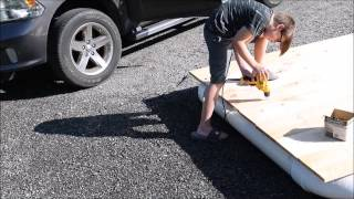 Build A PVC Pipe Raft - By Building Your Own Private Beach