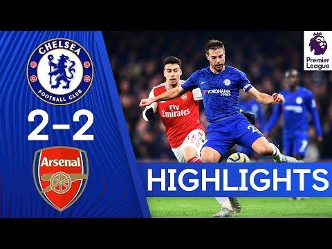 Chelsea 2-2 Arsenal | Premier League Highlights