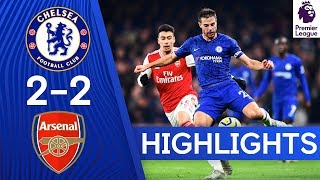 Chelsea 2-2 Arsenal   Premier League Highlights