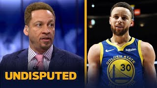 Chris Broussard: Warriors are Steph's team & he'll deserve Finals MVP if they win | NBA | UNDISPUTED
