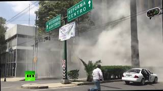 Deadly earthquake hits Mexico City