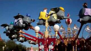 Dumbo the Flying Elephant at Walt Disney World  Magic Kingdom