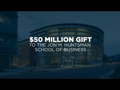 Utah State University Announces Major New Programs for Students and Faculty with Largest Gift in School History from Huntsman Foundation and Charles Koch Foundation