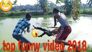 Top 10 funny video -most funny videos 2018 || try-not-to laugh||PRO FUNNY