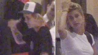 FIRST APPEARANCE! - EXCLUSIVE - Justin Bieber And Hailey Baldwin Arrive In Style In Beverly Hills
