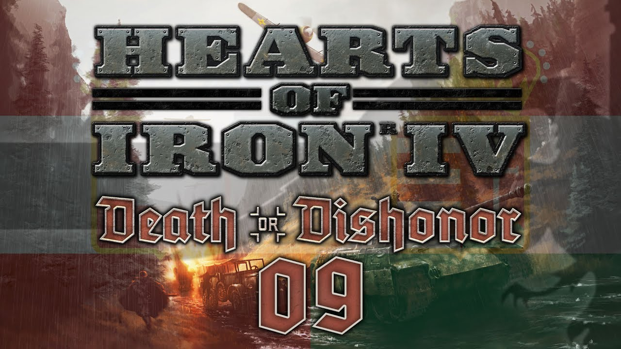 Hearts of Iron IV DEATH OR DISHONOR #09 AI NAVAL INVASION