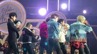 [180111] GDA EXO Diamond and Run This Performance Fancam
