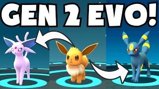 Pokemon Go HOW TO GET UMBREON AND ESPEON | NEW GENERATION 2 UPDATE EEVEE EVOLUTION TRICK CHEAT/HACK