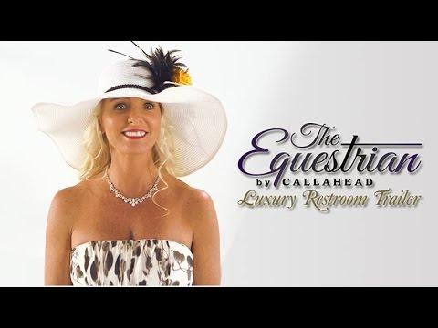 'The Equestrian' Luxury Portable Restroom Trailer Video