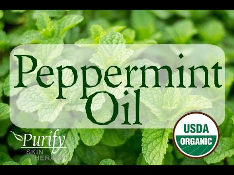 video Yosher-Dan Peppermint Oil