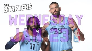 NBA Daily Show: Jan. 23 - The Starters