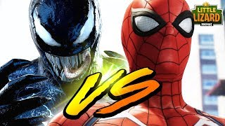 SPIDERMAN VS VENOM IN FORTNITE- FORTNITE SHORT FILMS