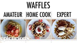 4 Levels of Waffles: Amateur to Food Scientist | Epicurious