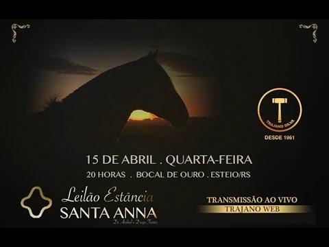 Leilão Estância Santa Anna - Bocal de Ouro 2020