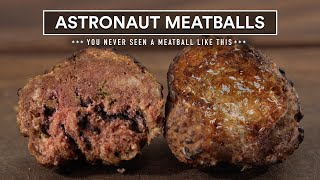 We tried Astronaut Meatballs, It's Insane | SpaceX Food?